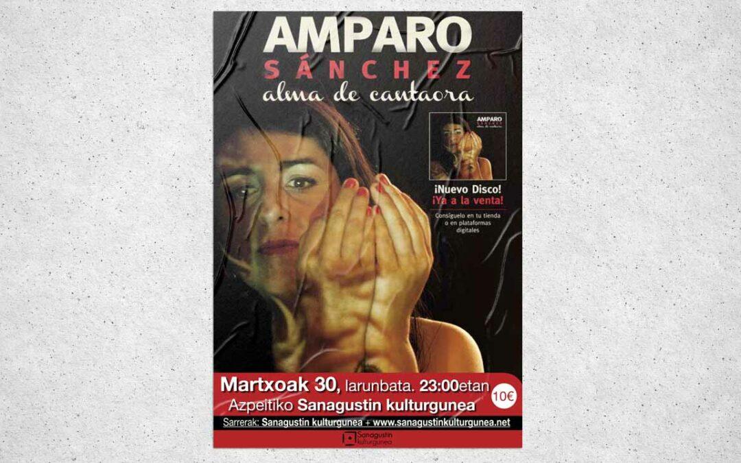 Amparo Sánchez: Alma de cantautora