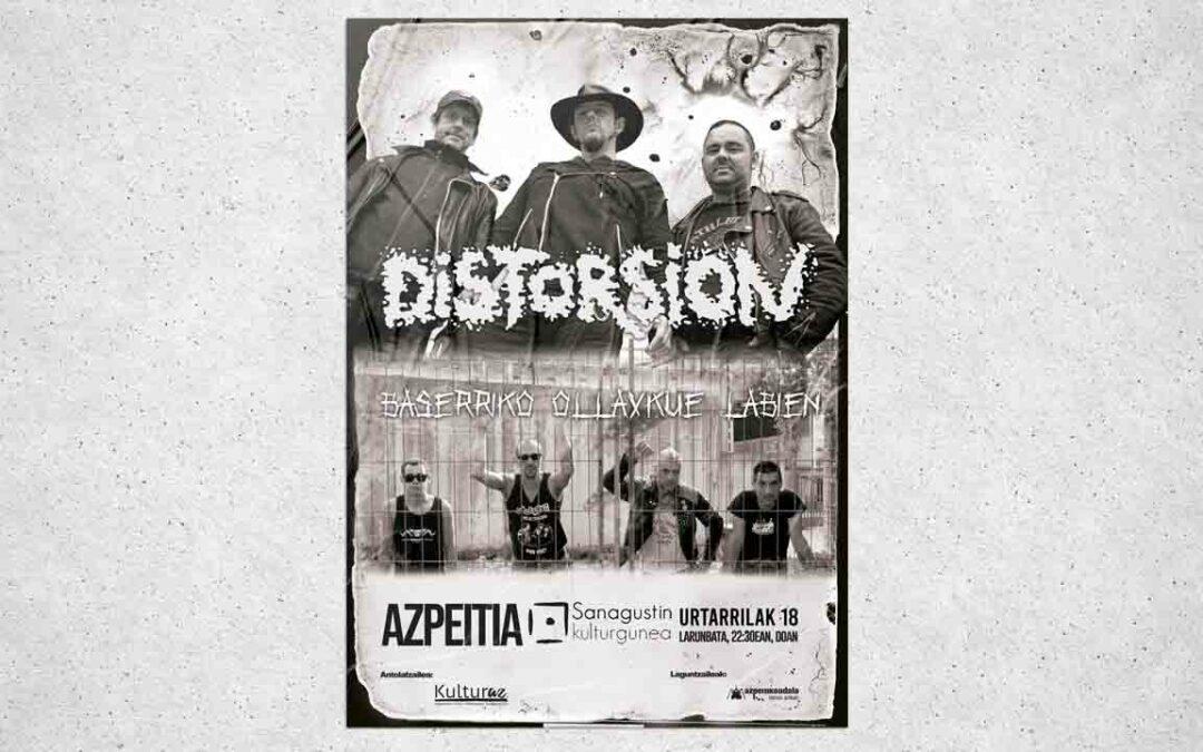 Distorsion | Baserriko Ollaskue Labien