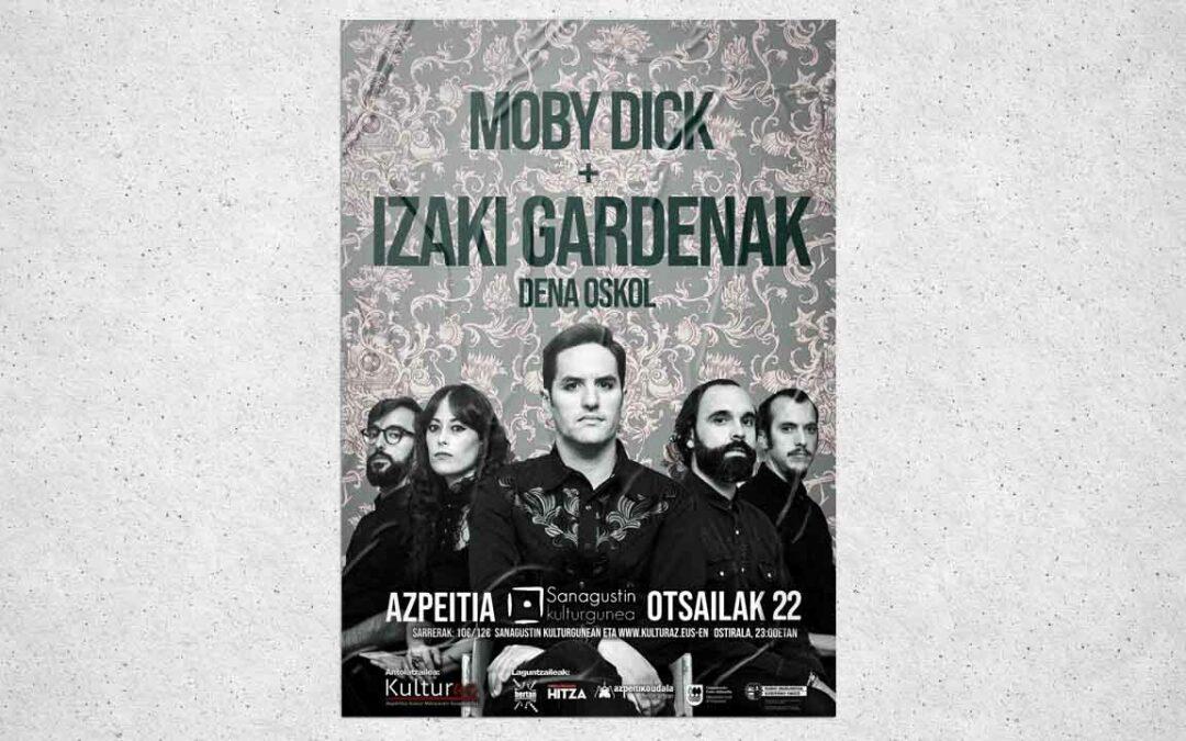 Izaki Gardenak   Moby Dick