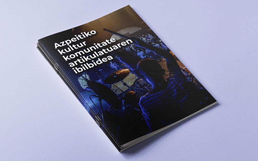 Azpeitiko kultur komunitate artikulatuaren ibilbidea